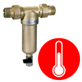 Domestic hot water filters