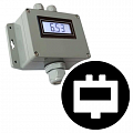 Detectors with LCD display