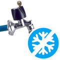 Frost-proof valves