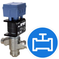 Regulator valves for refrigerants