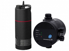 Grundfos SB3-45M set submersible pump + pressure control unit