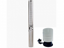 Grundfos SP 5A-17 set submersible pump + water suply set 60 L + cable 30 m