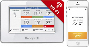 Central controller Evohome Touch Wi-Fi Honeywell ATC928G3026