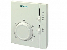 Room thermostat for two-pipe fan coil Siemens RAB 11