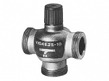 Three-way cast-iron control valve DN 25 Siemens VXG 48.25