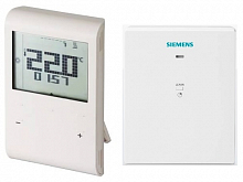 Wireless room thermostat Siemens RDE 100.1 RFS