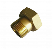 "Brass screw connection 1/2""x3/4"" to pump"