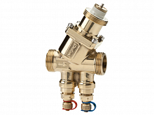 Pressure-independent 2-way regulator valve Optima Compact plus