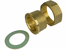 "Brass screw connection 5/4""x2"" to pump"
