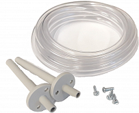 Connection kit for vent pipe including 2 m pipe