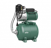 Self-priming domestic waterworks with bag container Wilo HWJ 204 EM 50l