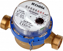 Residential cold water meter ENBRA ER-AM DN 20 / SV