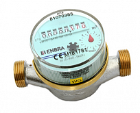 Residential hot water meter ENBRA ETW ECO DN15 / TV